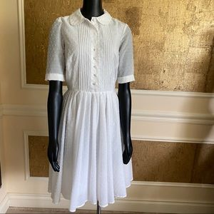 French Connection boho white midi dress 2